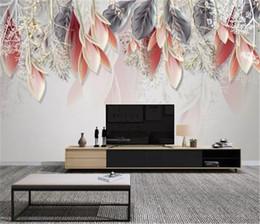 $enCountryForm.capitalKeyWord Australia - 2019 New Nordic small fresh hand-painted magnolia flower watercolor Living Room Bedroom Background Wall Decoration 3d Wallpaper