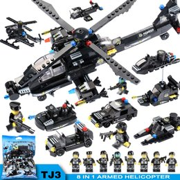 $enCountryForm.capitalKeyWord NZ - 8 IN 1 City Police Station Building Blocks Compatible LegoINGly City SWAT Team Truck Blocks Educational Toy For Boys Children