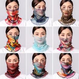 $enCountryForm.capitalKeyWord Australia - Multifunction Summer Scarf Outdoor Sunscreen Silk Cycling Face Mask Upgrade Hanging Ear Neck Scarf Running for Women