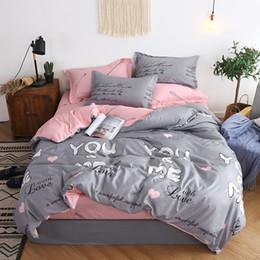 $enCountryForm.capitalKeyWord Australia - BEST.WENSD luxury jacquard bedclothes 3d Rose Wedding flat bed linen 100% microfibre bedding set duvet cover housse de couette