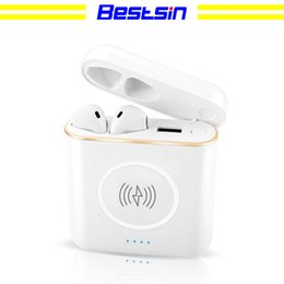 Mixed banking online shopping - Bestsin XT6 TWS in Bluetooth Wireless Headset Earphone Wireless Charger Power Bank For I7S I8X