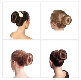 Hair styling donut bun online shopping - Clearance Sale Stock in USA Hair Magic Tools Bun Maker Hair Ties French Twist Quick Fold Wrap Girl DIY Styling Donut Former Hair Bows