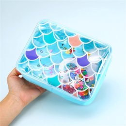 large pvc cosmetic bag 2019 - Mermaid PVC Cosmetic Bag For Women Waterprood Clear Makeup Bag Large Female Wash Storage Pouch Beach Jelly Purse Fashion