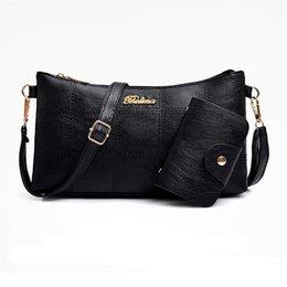 2 PCS Women Bags Set Leather Handbag Women Top-Handle Ladies Handbags  Shoulder Bag for 2019 Luxury Messenger Bag Bolsas  275089 6419ac369b36e