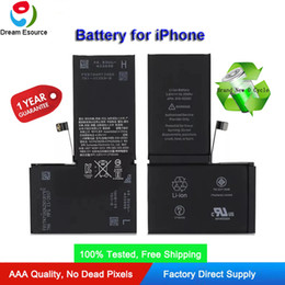 iphone cycling Australia - Premium Qaulity 100% tested and zero cycle New Built-in Li-ion Battery for iPhone 5 5S SE 6G 6Plus 6S 6SPlus 7G 7Plus 8G 8Plus X replacement