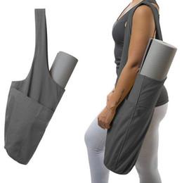 Yoga bolsa de mano de múltiples funciones impermeable bolsa de almacenamiento portátil Yoga Mat Yoga Pilates Danza Suministros de asas de mochila para la aptitud portador de la honda en venta