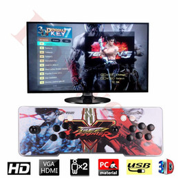 arcade video games consoles 2018 - 3D Pandora 7 2177 in 1 Arcade Video Game Console 1920x1080 Full HD 2 Players Retro 3D Game Arcade Machine Double Arcade