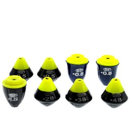 led weights 2019 - 8Pcs Float New All Sizes Weight Adjustable Lead Weight Sinkers for Fishing Popular Fishing Accessories cheap led weights