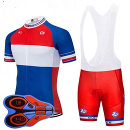FDJ team Cycling Short Sleeves jersey (bib) shorts sets MTB Ropa Ciclismo  sobycle mens summer bicycling Maillot wear 122910F 84ee0d697