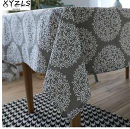 $enCountryForm.capitalKeyWord NZ - XYZLS New European Style Elegant Grey Table Cloth Polyester Tablecloth Insulated Coffee Tea Table Pads Table Cover