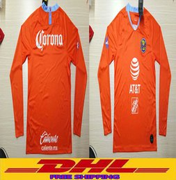 0d68e0da2 In stock DHL Free shipping the best quality 2018 2019 America Long sleeve soccer  jersey size can be mixed batch S-XXL
