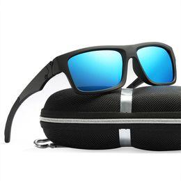 5a1141cdc3 Mens HD Polarized Lens Sunglasses Man Vintgae Sports Diving Sun Glasses Men  High Quality Driver Fishing Eyewear Goggles UV400