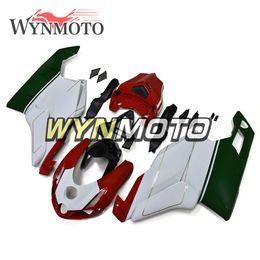 $enCountryForm.capitalKeyWord Australia - Red White Green Lower Body Frames Fit For 999 749 Monoposto (Single Seat) 2003 2004 Bodywork Motorcycle Cover Plastic ABS Injection Fairing