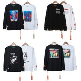 Wholesale Heron Preston T Shirt Hiphop Clothes Streetwear Men Women Heron Preston White Black Tee Shirt Design Long Sleeve T Shirt Club Tops CLI0333