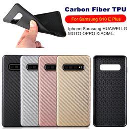 $enCountryForm.capitalKeyWord Australia - Carbon Fiber TPU Case For Samsung Galaxy S10E S10 Plus J4 J6 Plus 2018 J2 PRO J5 2016 J7 Prime Iphone XS MAX XR 6 7 8 Anti Shock Armor Case
