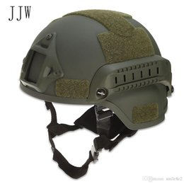 $enCountryForm.capitalKeyWord Australia - JJW Tactical Helmet Gear Paintball Head Protector with Night Vision Sport Camera Mount Helmets Bike Cycling Free Shipping VB
