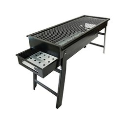 $enCountryForm.capitalKeyWord Australia - Portable Foldable Barbecue Grill Outdoor Burner Oven Drawer Type Charcoal Stove BBQ Tool