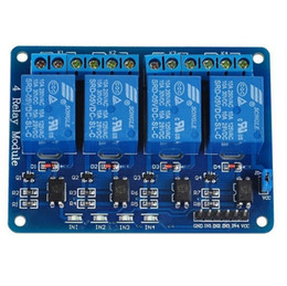 $enCountryForm.capitalKeyWord NZ - New 5V Four 4 Channel Relay Module With Optocoupler For PIC AVR DSP ARM Arduino