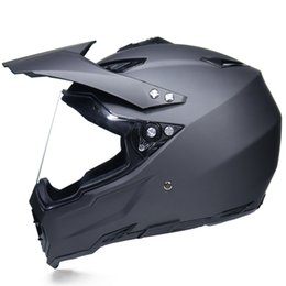Top Motorcycle Helmets Australia - 2017 TOP sale motorcycle helmet ATV Dirt bike downhill cross capacete ABS off road helmet DOT approval
