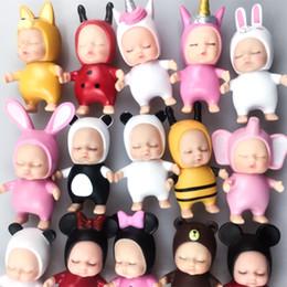 $enCountryForm.capitalKeyWord Australia - Baby Sleeping Doll Unicorn Animals Fashion Dolls Cake Baking Mini Decorate Collectible Ornament Cartoon Figure Adorable 1 9jh O1