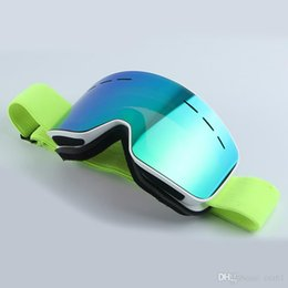 Colors Goggles Ski Australia - 6 colors ski goggles Mountain climbing anti-fog googles snow sports protective Gear