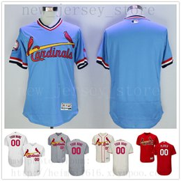 4152699ce3c Jerseys soccer names online shopping - Custom St LouisCardinals New Men Womens  Youth Jerseys White Blue