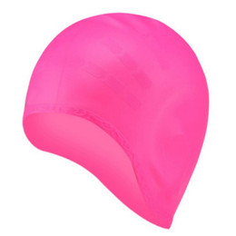 $enCountryForm.capitalKeyWord UK - 2018 High Quality Silicone Ear Caps Swimming Caps Ladies Hair Mask Waterproof Hair Earplugs