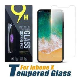 Опт Для iphone XS Max X XR закаленное стекло пленка для iphone 6 протектор экрана 2.5d 9h бумажный пакет бесплатно DHL