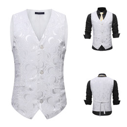 $enCountryForm.capitalKeyWord NZ - Suit Vest Men waistcoat slim fit Jacket Sleeveless Formal Bussiness Tuxedo Suit Waistcoat Vest Jacket Top Coat chaleco hombre