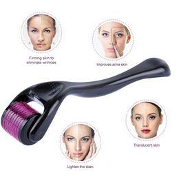 $enCountryForm.capitalKeyWord Australia - 0.2mm Derma Roller S540 Micro Needles Derma Roller Microneedle for Skin Care Cosmetic Body Treatment Titanium Microneedling