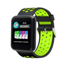 ip68 smart watch 2019 - Sport Smart Watch Men Blood Pressure IP68 Waterproof Fitness Tracker Clock Smartwatch For IOS Android Wearable Devices T