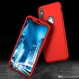 Iphone 5s Branded Cases Australia - Brand Case for iPhone 6 7 8 5s Plus XS Max Cover 360 Shockproof Hybrid Glass Protector