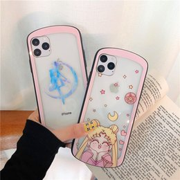 sailor moon hot Australia - Sailor Moon Princess Women Designer Phone Cases Fashion Cover For IPhone 11 Pro X 7Plus 8P 7 8 Brand Hot Sale Cartoon Cute B101722V