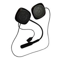 Helmets speakers online shopping - ALLOYSEED Motorcycle Motorbike Helmet Bluetooth MH03 Headsets Wireless Headphones Stereo Speaker Hand free Earphone