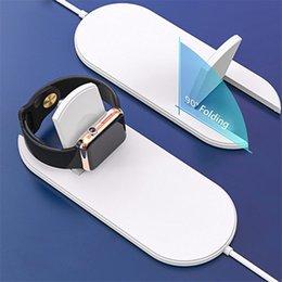 Großhandel 10W Qi Wireless-Ladegerät für iPhone X / XS Max XR 8 8 Plus Sichtbares schnelles Wireless-Ladegerät für Samsung