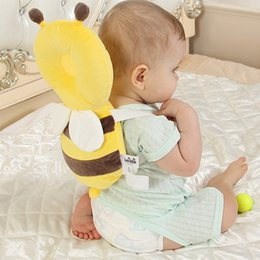 Toddler carry online shopping - Summer Baby Head Back Protector Safety Pad Infant Toddler Newborn Cartoon Harness Headgear Newest Cormer Guards Bee Angel Beetle