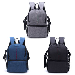 $enCountryForm.capitalKeyWord UK - Backpack Photo Camera for DSLR SLR Video Waterprpof Fabric Soft Padded Shoulders Backpack Bag Case for Digital Camera