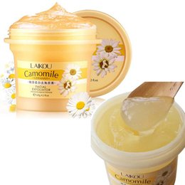 blackhead scrubs UK - LAIKOU Facial Scrub Exfoliating Skin Blackheads Whitening Descaling Moisturizing Gentle Body Exfoliating Gel Daisy Skin Care Cosmetics E0402
