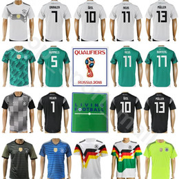 533bf74b0 Soccer Jerseys Team Kits Australia - Germany Jersey 2018 World Cup Soccer  13 MULLER 23 GOMEZ