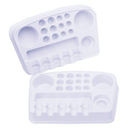$enCountryForm.capitalKeyWord Australia - 1Pc Pack Disposable Plastic Tattoo Holder For Needles Tips Ink Cups Solution Work Plate For Tattoo Accesories Supply