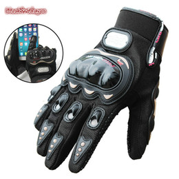 summer motorcycle riding gloves Australia - Riding Tribe Touch Screen Gloves Motorcycle Gloves Winter&Summer Motocross Protective Gear Racing Gloves Warm hand guard