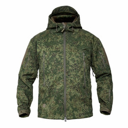 shark shell jacket Australia - XS-5XL Tactical Shark Skin V5.0 Soft Shell Jacket Men Women Outdoor Climbing Hiking Training Hunting Waterproof Windproof Coat T190919