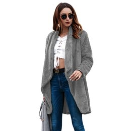 103a52ca2 Cross Border Amazon European High-end Suit-dress 2018 Autumn And Winter New  Product Women s Long Fund Cardigan Loose Coat