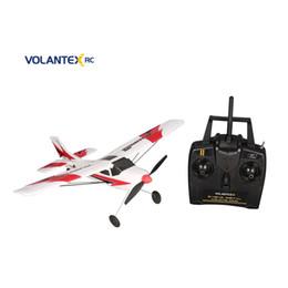 $enCountryForm.capitalKeyWord Australia - VOLANTEX V761-1 2.4Ghz 3CH Mini Trainstar 6-Axis Remote Control RC Airplane Fixed Wing Drone Plane RTF for Kids Gift Present