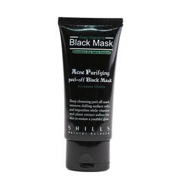 $enCountryForm.capitalKeyWord UK - Hot Selling 50ml SHILLS Deep Cleansing purifying peel off Black mud face mask Remove blackhead facial mask Smooth Skin Shill Care