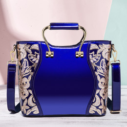$enCountryForm.capitalKeyWord NZ - Classic Vintage Women Handbags Purse Patent Leather Luxury Ladies Hand Bags Desinger Office Outdoor Women Messager Bags JC08302