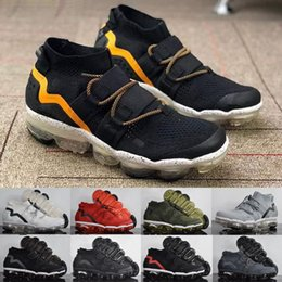 knit shoes 2019 - 2018 New FK Utility Mens Designer Shoes Men white black blue Running Trainers fly Brand knit Sneakers chaussures zapatos