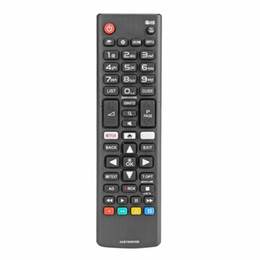 $enCountryForm.capitalKeyWord UK - 1Pcs ABS Universal LG TV Remote Controller Replacement AKB75095308 for LG Smart TV 43UJ6309 with Netflix Black High Quality