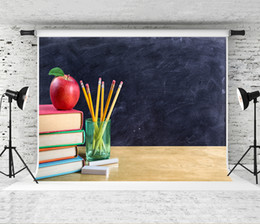 $enCountryForm.capitalKeyWord NZ - Dream 7x5ft Back to School Photography Backdrop Blackboard Books Background for Children School Photo Booth Backdrops Studio Prop 2.2x1.5m