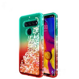 d9962230b00 For Samsung Note 9 Case Luxury Glitter Quicksand Liquid Floating Flowing Sparkle  Shiny Bling Diamond Phone Cases For Samsung S8